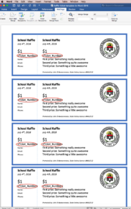 Raffles And Raffle Tickets: The Secret To Creating Numbered throughout Free Raffle Ticket Template For Word