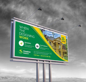 Real Estate Billboard Banner Template 000354 pertaining to Street Banner Template