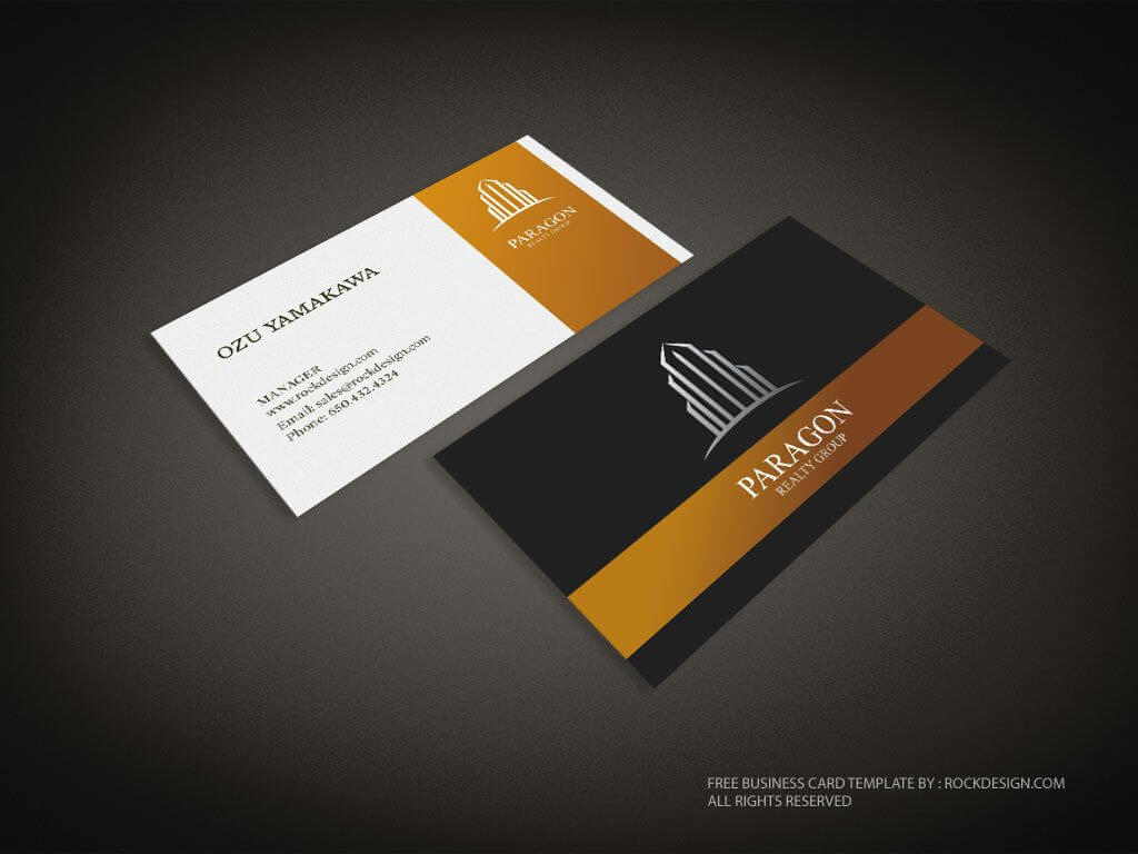 Real Estate Business Card Template   Download Free Design In Unique Business Card Templates Free