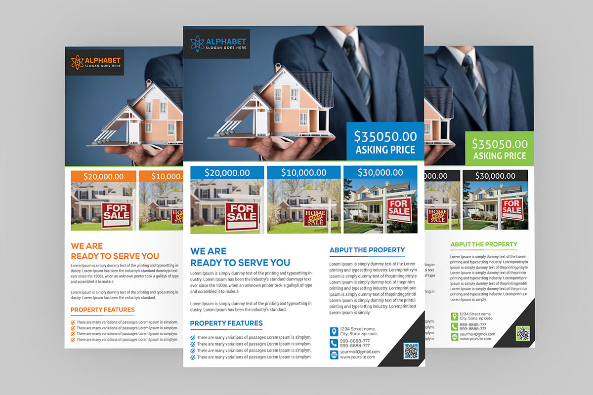 Real Estate Flyer Psd Template Free Download – Coding Bank Inside Real Estate Brochure Templates Psd Free Download