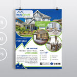 Real Estate – Psd Photoshop Flyer Template – Free Psd Flyer With Regard To Real Estate Brochure Templates Psd Free Download