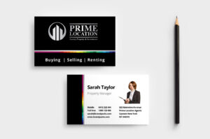 Realtor Business Card Template In Psd, Ai & Vector – Brandpacks in Real Estate Agent Business Card Template