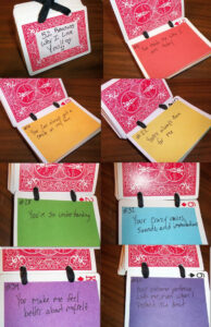 Reason Why U R My Best Friend Deck Of Card | 52 Reasons Why with 52 Things I Love About You Deck Of Cards Template