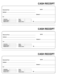 Receipt Template – Fill Online, Printable, Fillable, Blank with Blank Money Order Template