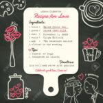 Recipe Card Creative Wedding Invitation Design Template With.. With Recipe Card Design Template