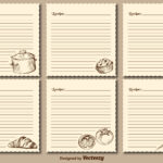 Recipe Cards Free Vector Art – (659 Free Downloads) Throughout Restaurant Recipe Card Template