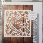 Recollections Thank You Card Confetti Cutting Dies Template 542692 (1 Die) In Recollections Card Template