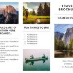 Recreation Travel Brochure Template | Lucidpress Pertaining To Travel Brochure Template For Students