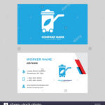 Recycling Bin Business Card Design Template, Visiting For For Bin Card Template
