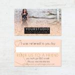 Referral Card Template   Pastel Greetings Regarding Referral Card Template