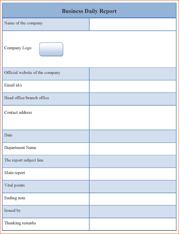 Report Business Progress Late Word Plan Free Example Simple Inside Simple Business Report Template