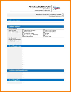Report Event Template Post Word Download Sample Debrief The regarding Post Event Evaluation Report Template