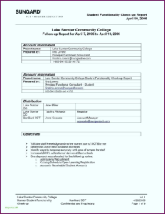 Report Summary Template Sample In Excel Pdf Training Format in Weekly Test Report Template