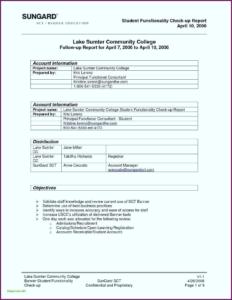 Report Summary Template Sample In Excel Pdf Training Format Regarding Training Report Template Format