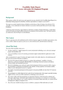 Report Technicalility Template Best Study Proposal For Technical Feasibility Report Template