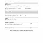 Report Workers Compensation First Of Injury Form Serious Within Serious Incident Report Template