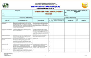 Reporting Requirements Template Ivoiregion Analytics Excel Within Report Requirements Template