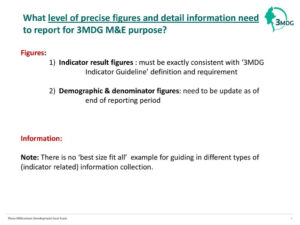 Reporting Template (M&e Section) January 12 , Ppt Download throughout M&e Report Template