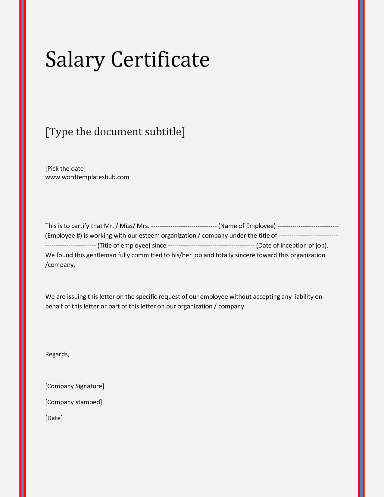Request Letter For Certificate Employment Nurses Cover Proof Regarding Sample Certificate Employment Template