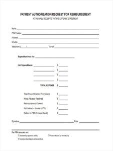 Request Reimbursement Form – 8+ Free Documents In Word, Pdf with regard to Reimbursement Form Template Word