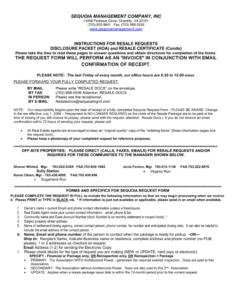 Resale Document Request Form – Centreville Community Foundation Regarding Resale Certificate Request Letter Template