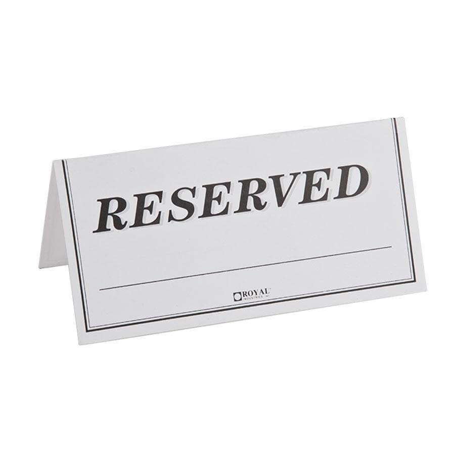 Reserved Table Tent Template – Hizir.kaptanband.co With Regard To Reserved Cards For Tables Templates