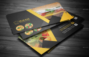 Restaurant Business Card throughout Restaurant Business Cards Templates Free