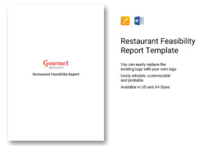 Restaurant Feasibility Report Template In Word, Apple Pages Intended For Technical Feasibility Report Template