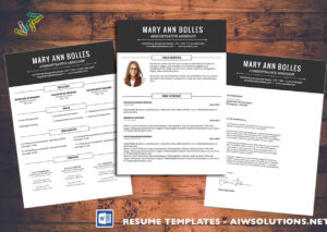 Resume Template Id02 for Resume Templates Microsoft Word 2010