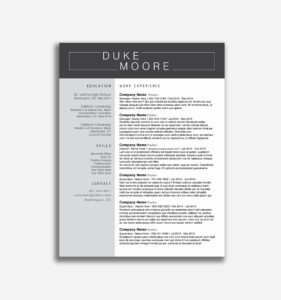 Resume Templates For Word 2010 Beautiful Free How To Use for How To Use Templates In Word 2010