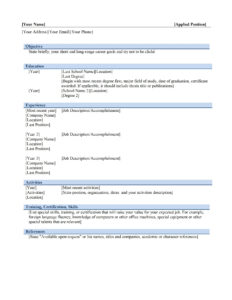 Resume Templates Free Download Microsoft Word Template 2007 with regard to Microsoft Office Certificate Templates Free