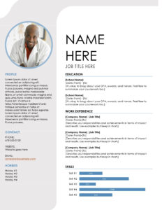 Resumes And Cover Letters – Office within Free Blank Resume Templates For Microsoft Word