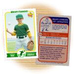 Retro 75 Series Is The Primary Custom Baseball Card Design in Custom Baseball Cards Template