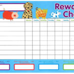 Reward Chart Templates – Word Excel Fomats For Reward Chart Template Word
