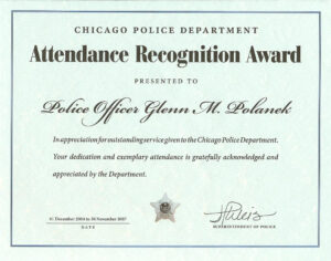 Ribbon Awards | Chicagocop Throughout Life Saving Award Certificate Template