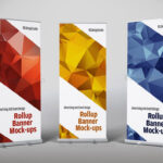 Roll Up Banner Mock Ups | Workstuff Templates | Rollup Intended For Pop Up Banner Design Template