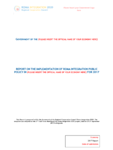 Roma Integration 2020 | Template For Report On The with Implementation Report Template