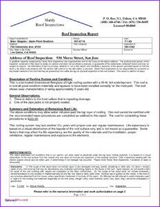 Roof Inspection Letter Template Samples | Letter Template for Roof Inspection Report Template