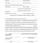 Roofing Certificate Of Completion Template – Fill Online Within Certificate Of Completion Construction Templates