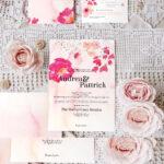 Rose Wedding Invitation Template Suite Psd – 1 Invitation With Regard To Wedding Card Size Template