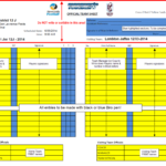 Rules – What Do The Referees Write During The Matches Inside Football Referee Game Card Template
