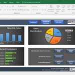 Sales Dashboard Template – Excel Dashboard For Sales Managers Throughout Sales Management Report Template