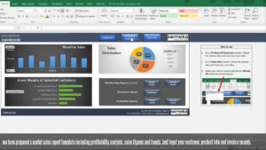 Sales Report Template – Excel Dashboard For Sales Managers intended for Sales Management Report Template