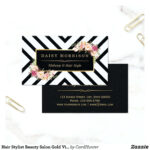 Salon Business Cards Templates Free Beauty Ai Designs Makeup Within Hair Salon Business Card Template