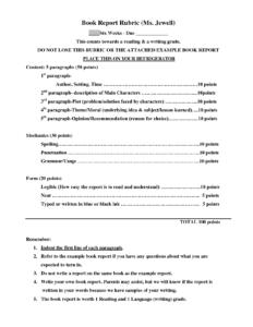 Sample 4Th Grade Book Report Format – Google Search with 4Th Grade Book Report Template