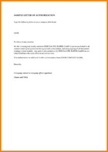 Sample Authorization Letter Birth Certificate Nso Fresh With Certificate Of Authorization Template