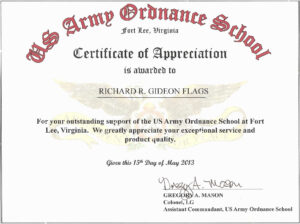 Sample Certificate Of Appreciation For Resource Speaker intended for Army Certificate Of Appreciation Template
