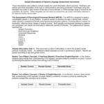 Sample Descriptions Of Speech Language Assessment Instruments Regarding Speech And Language Report Template