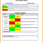 Sample Ect Portfolio Management Report New Status Template with Portfolio Management Reporting Templates