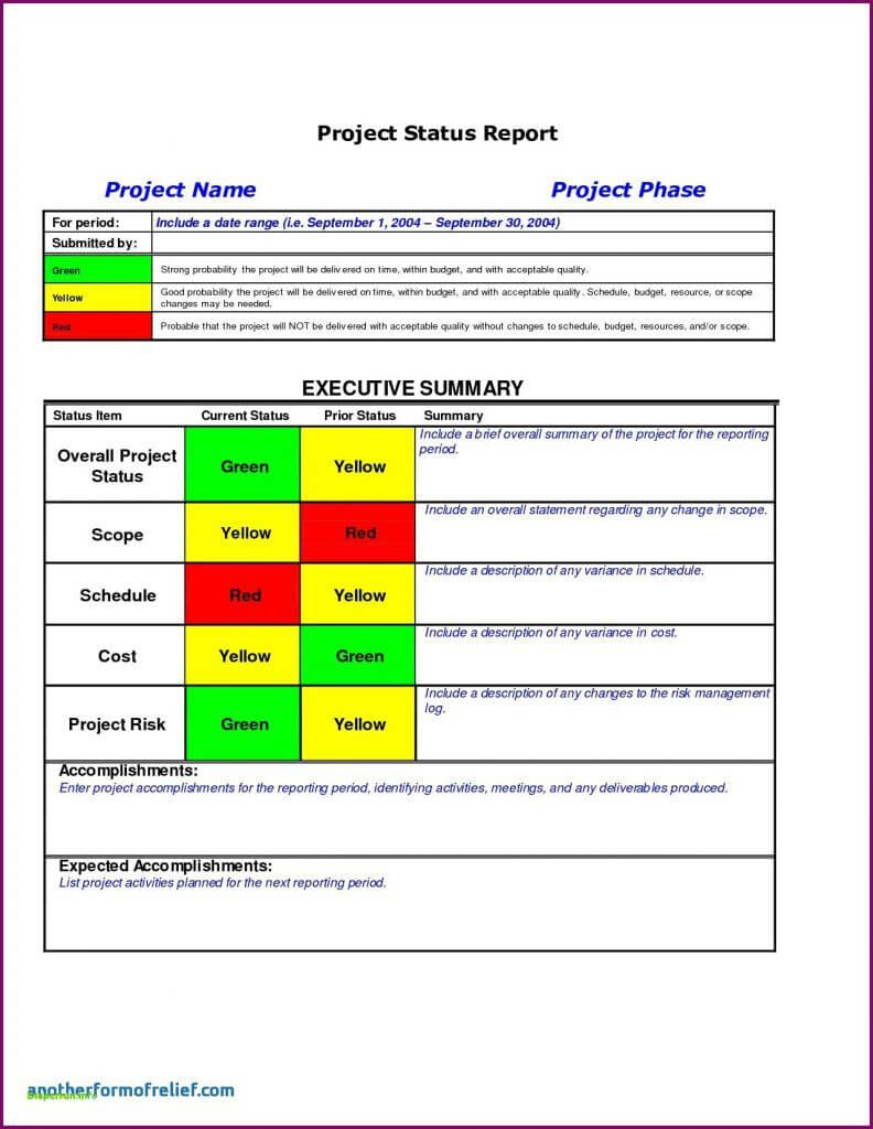 Sample Ect Status Report Excel Multiple Template Daily   Smorad Regarding Daily Project Status Report Template